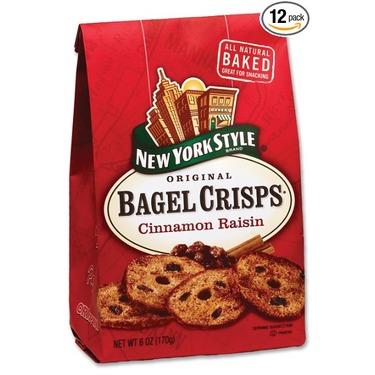 New York Style Original Bagel Crisps - Cinnamon Raisin