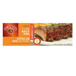 Scores BBQ Porc Back Ribs - Frozen