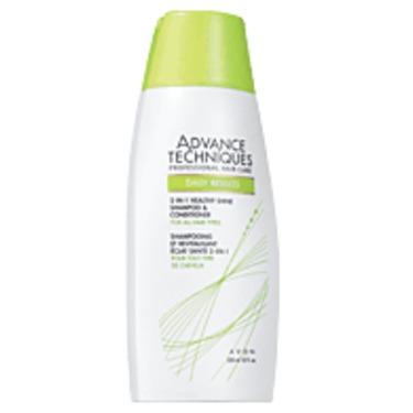 Avon Advance Techniques Healthy Shine 2-in-1 Shampoo & Conditioner