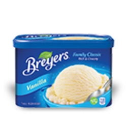 Breyer's Family Classic French Vanilla Frozen Dessert