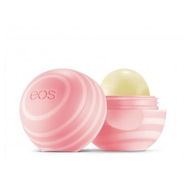 eos Organic Visibly Soft Smooth Spheres Lip Balm in Coconut Milk