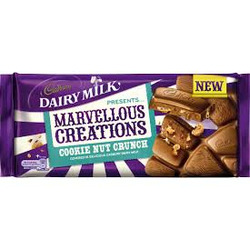 Dairy Milk Marvellous Creations Cookie Nut Crunch