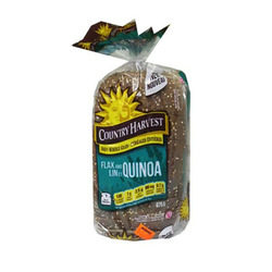 Country Harvest Flax and Quinoa bread