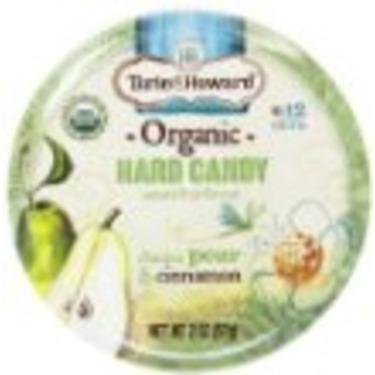 Torie and Howard Organic Hard Candy Tin, D'Anjou Pear and Cinnamon, 2 Ounce