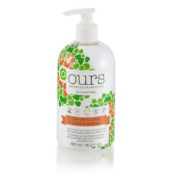 Ours by Cheryl Hickey Every Body Lotion