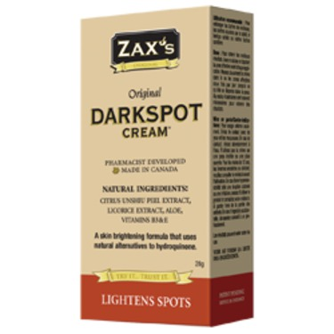 Zax's Dark Spot Cream