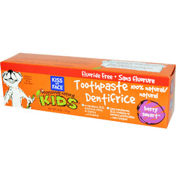 kiss my face kids toothpaste