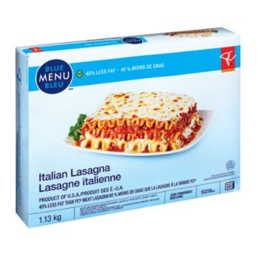President's Choice Blue Menu Italian Lasagna