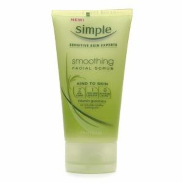 Simple Kind To Skin Smoothing Facial Scrub