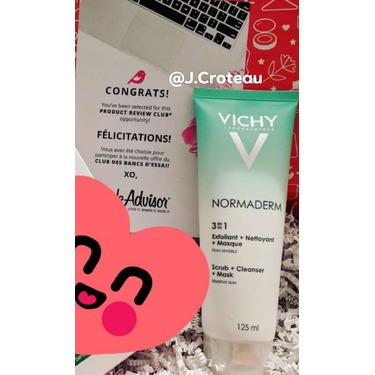 Vichy Normaderm 3in1 Scrub + Cleanser + Mask