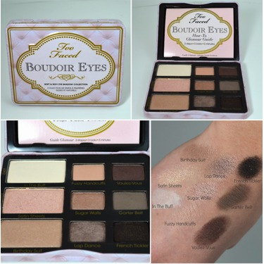 Too Faced Boudoir Eyes Shadow Palette