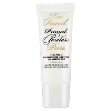 Too Faced Primed & Poreless Pure Oil-Free Skin Smoothing Face Primer For Sensitive Skin