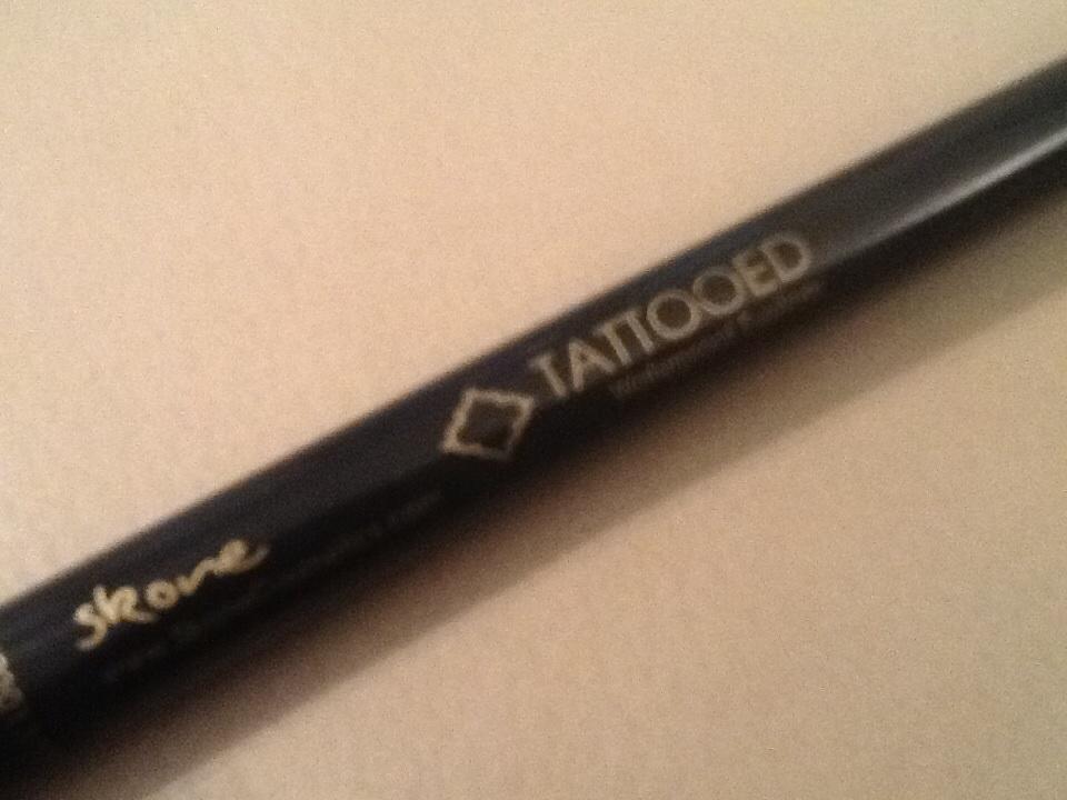 skone cosmetics tattooed waterproof eyeliner reviews in