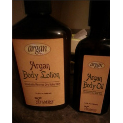Argan Body Lotion and Body Oil