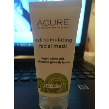 Acure Organics- cell stimulating facial mask