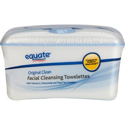 equate Facial Cleansing Towelettes