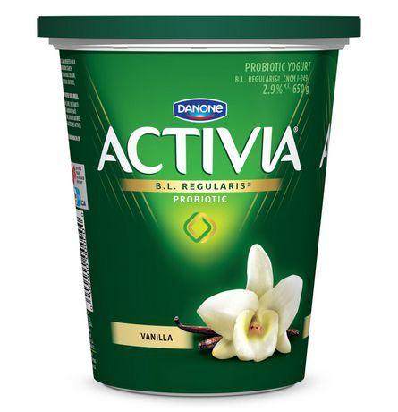 Danone Activia Probiotics Vanilla