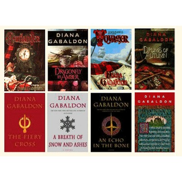Outlander Book Series by Diana Gabaldon