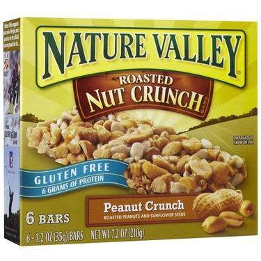 nature valley gluten free granola bar