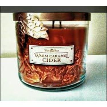 Bath & Body Works 3 wick candle Warm Caramel Cider