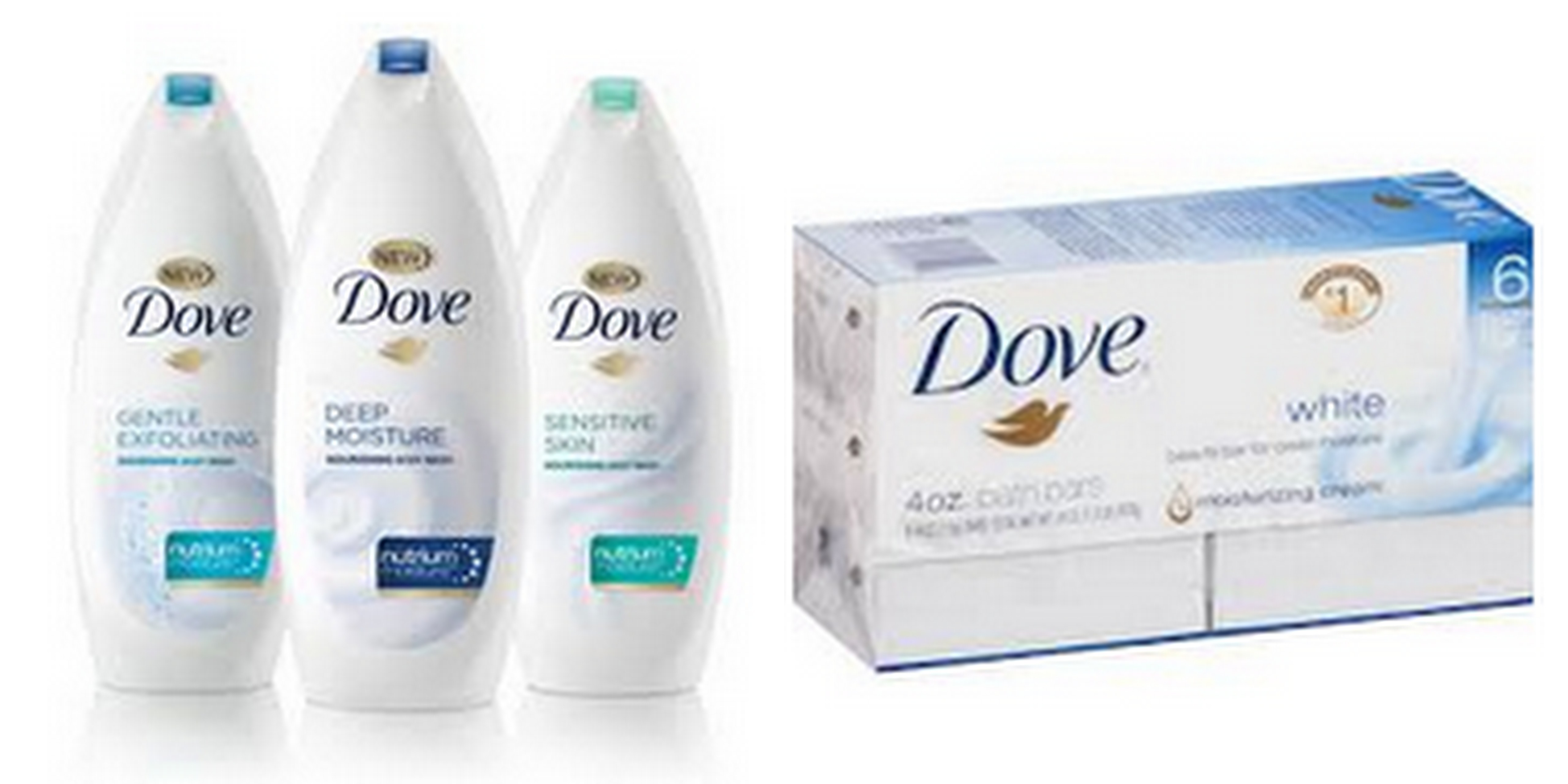 Rain Dove facial wash cream