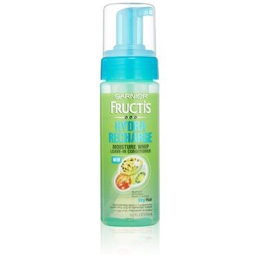 Garnier Fructis Hydra Recharge Moisture Whip Leave-In Treatment for Dry Hair
