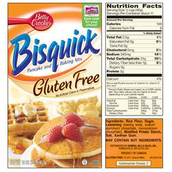 Betty Crocker Bisquick Gluten Free Pancake Mix