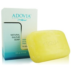 Adovia Natural Sulfur Soap with Dead Sea Minerals