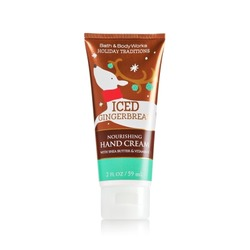 Bath and Body Works Holiday Traditions Iced Gingerbread hand cream