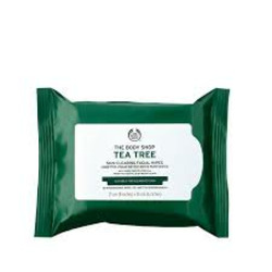 Body Shop tea tree facial wipes