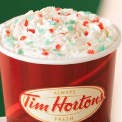 Tim Hortons Candy Cane Hot Chocolate
