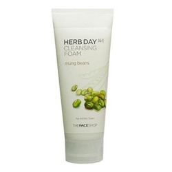 Herb Day 365 Mung Beans Cleansing Foam