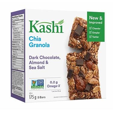 Kashi Chia Granola Bars- Almond Chocolate Sea Salt reviews