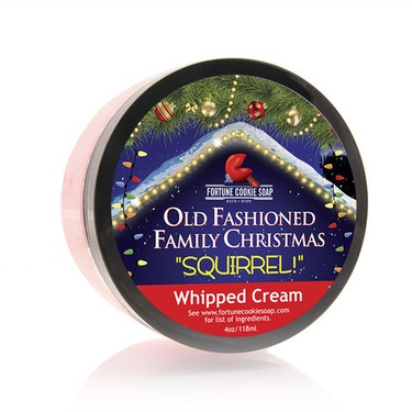 Fortune Cookie Soap Whipped Cream in Squirel!