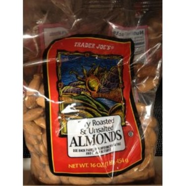 Trader Joe's Roasted Almonds Unsalted