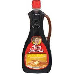 Aunt Jemima Butter Rich Syrup