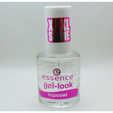 essence Gel-Look Topcoat Nail Polish