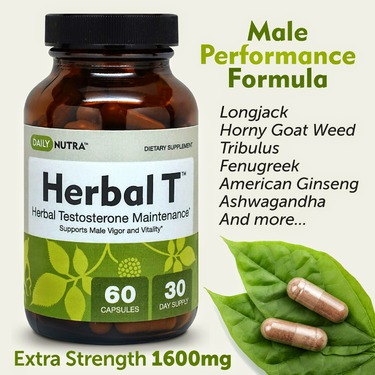 Herbal T Male Performance Supplement