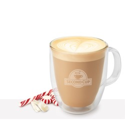 Second Cup Coffee Co. Candy Cane Latte