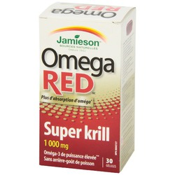 Jamieson Omega Red
