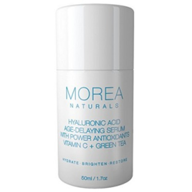 Morea Naturals Hyaluronic Acid Age Delay Serum With Vitamin C Green Tea