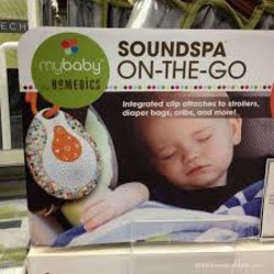 HoMedics MyBaby SoundSpa On-The-Go