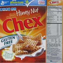 Gluten Free Honey Nut Chex