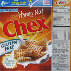 Gluten Free Honey Nut Chex