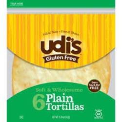 Udi's Gluten Free Plain Tortillas