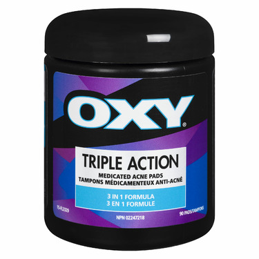 Oxy Triple Action Cleansing Acne Pads