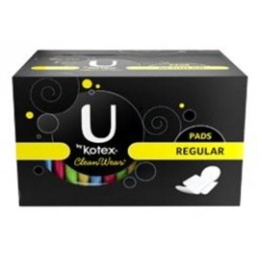 U by Kotex Clean Wear Regular Pads