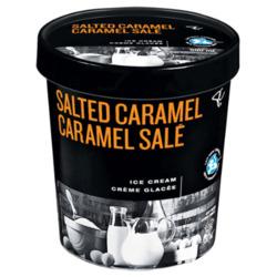 President's Choice Black Label Salted Caramel Ice Cream
