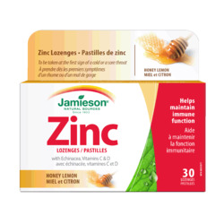 Jamieson Zinc Lozenges with Echinacea and Vitamins C and D