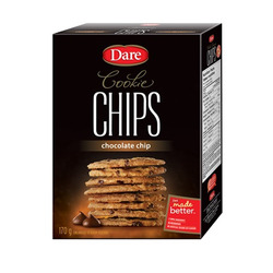 Dare Cookie Chips - Chocolate Chip Flavour